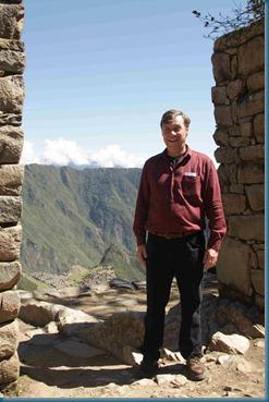 Dan at Sun Gate Machu Picchu